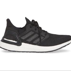 ADIDAS ULTRA BOOST 20, BLACK, Size-9. Gently Used